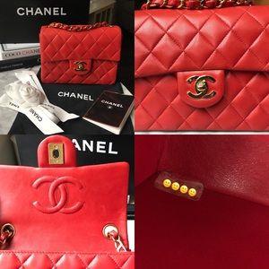 8f3a0e9ddde33f CHANEL Bags - 🛑FINAL REDUCTION🛑 CHANEL Vintage Square Mini